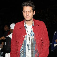 With John Mayer's birthday around the corner, look back at all the ladies in his life 39th Birthday, John Mayer, Gorgeous Guys, Wonderwall, In Hollywood, Corner, Handsome, Romance, Leather Jacket