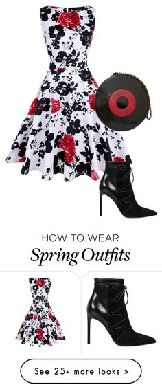"""""""Spring set"""" by giulia-ostara-re on Polyvore featuring Yves Saint Laurent and Chanel"""