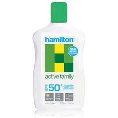 Hamilton Active Family Losyon SPF50+ 250 ml ürünü ile güneşin zararlı etkisini en aza indirerek cilt yapınızda oluşabilecek problemlerin önüne geçebilirsiniz. Ayrıca dilerseniz diğer Hamilton ürünlerinin detaylarını http://www.narecza.com/hamilton adresinden inceleyebilirsiniz. #hamilton #güneş #bakımı #losyon #krem #spf #ciltbakımı #güneşkoruyucu #hamiltongüneş #hamiltonürünleri