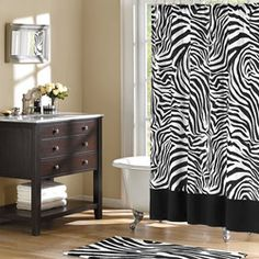 Shop for Home Essence Safari Shower Curtain . Get free delivery On EVERYTHING* Overstock - Your Online Shower Curtains & Accessories Store!