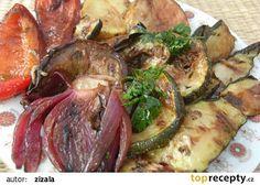 Naložená grilovaná zelenina recept - TopRecepty.cz