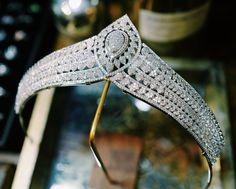 Baroque Jewellery by BaroqueJewellery on Etsy Headpiece Jewelry, Hair Jewelry, Fashion Jewelry, Book Jewelry, Fantasy Jewelry, Bridal Crown, Bridal Tiara, Skeleton Bracelet, Fancy Wedding Dresses