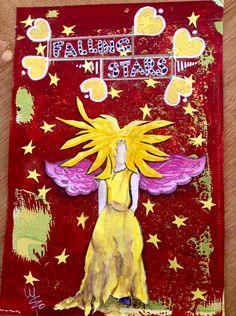 Falling stars journal page