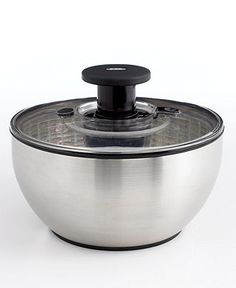OXO Stainless Steel Salad Spinner - Because I eat so much salad, I'm going for the top of the line!