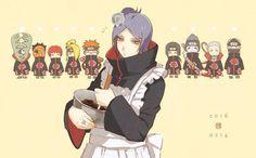 akatsuki #Naruto #SaintValentin dessin de mitarashi0111