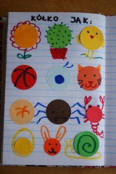 kappacyzm terapia logopedyczna głoska k Mental Retardation, International Dot Day, Special Education, Art Lessons, Plastic Cutting Board, Literacy, Origami, Crafts For Kids, Dots