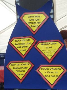 This is how you theme a tent! Credit: Relay For Life of Hunter's Creek (Twitter: @RelayHuntersCrk)