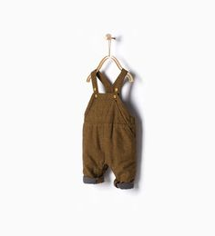 Image 1 of Flecked dungarees from Zara