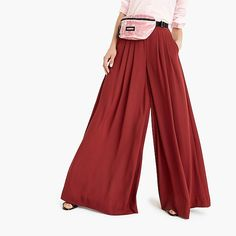 collection pull-on wideleg pant : women just in