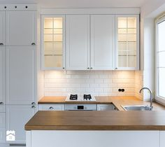 Kitchen Sink On Wall without Window – Modern Kitchen Kitchen Cabinets Materials, Kitchen Cabinet Design, Modern Kitchen Design, Kitchen Decor, Kitchen Sink Window, Kitchen Flooring, Home Kitchens, Kitchen Remodel, Decoration