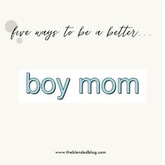 FIVE WAYS TO BE A BETTER BOY MOM - @theblendedblog  : Featured post on Turn It Up Tuesdays. Funny Stories, You Funny, Entertaining, In This Moment, Boys, Happy, Baby Boys, Ser Feliz, Senior Boys
