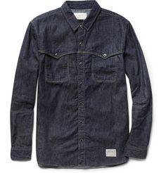 Neighborhood Rawhide Denim Shirt | MR PORTER