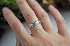 Spinner Ring Sterling Silver Spinner Ring Meditation Ring Serenity Ring Silver Rings