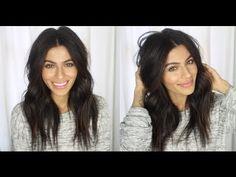 ▶ Messy Wavy Hair Tutorial - YouTube