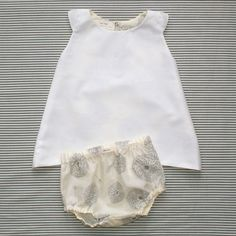 thinking of trying to make these simple little dresses for summer Little Fashion, Baby Girl Fashion, Cute Fashion, Kids Fashion, Stylish Summer Outfits, Stylish Baby, Girl Outfits, Fashion Outfits, Classic Outfits