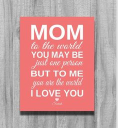 Mothers Day Quotes Daughter Grandparent Gifts Happy Birthday Mom From