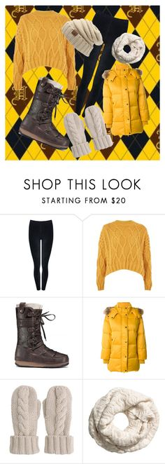 """""""Untitled #33"""" by stellox-steel on Polyvore featuring M&Co, Topshop, Moon Boot, P.A.R.O.S.H. and Mint Velvet"""