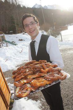 Butterbrezen zum Hochzeitsempfang im Riessersee Hotel Resort Garmisch