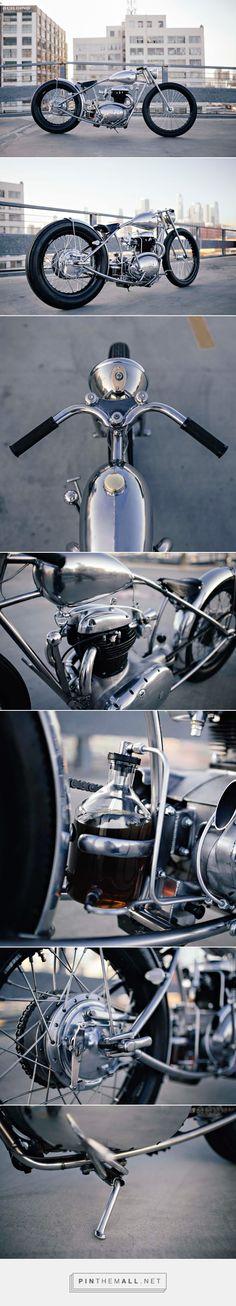 Custom BSA 500 by Maxwell Hazan