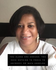You alone are ENOUGH. You have nothing to prove to anybody.  Dr Maya Angelou  #motivation #workfmhomediva #mayaangelou #confidence #mindset