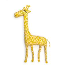 Gerald the Giraffe Lambswool Plush Toy - Made to order