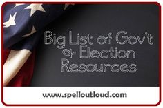 Government and Election Resources for teachers & homeschoolers & {parents who do After School}