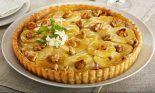 Receta de tarta de manzana y nueces