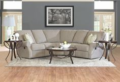 Klaussner Anchorage Reclining Sectional 44903…