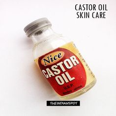 Castor oil has been used for many skin, health and hair problems since ages. I remember my grandmother recommending this oil for so many problems. Castor oil is extracted from castor seed and it is an Castor Oil For Face, Castor Oil For Hair Growth, Hair Growth Oil, Home Remedies, Natural Remedies, Castor Oil Packs, Castor Oil Benefits, Natural Moisturizer, Make Up