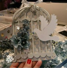 Bird In A Cage, Invitations, Invitation Ideas, Snow Globes, Baby Shower, Creative, Instagram Posts, Flowers, Cards