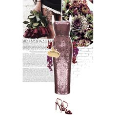purple desire. by eve-angermayer on Polyvore featuring Rasario, Jimmy Choo, Benedetta Bruzziches and WALL