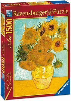 Puzzle Pad, Puzzle Shop, Puzzle Toys, Ravensburger Puzzle, Vincent Van Gogh, Numero D Art, Puzzle Board Games, Van Gogh Sunflowers, Alcohol