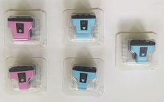 HP 02 Printer Ink Cartridges Printer Light Cyan Light Magenta New Sealed 5 #HP