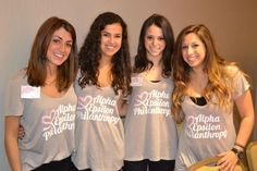 Boston University sisters show off their philanthropic side during recruitment