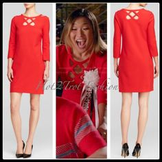 NWT DVF Diane von Furstenberg Carmen New Cutout Dress, Size:4, Poppy Red, $428 in Clothing, Shoes & Accessories, Women's Clothing, Dresses   eBay