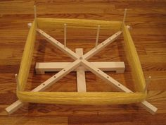 Large Hard Maple Yarn Swift