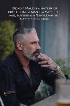 Beard Styles For Men, Hair And Beard Styles, Rebellious Quotes, Badass Quotes For Guys, Silver Fox Hair, Daniel Sheehan, Guys Grooming, Silver Foxes Men, Inspirational Words Of Wisdom