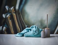 concrete x wood toilet brush from Juna