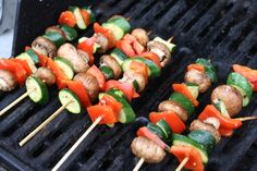 Gluten Free Lunchboxes - Skewers, Kabobs, & Toothpicks GF skewer and kabob recipes Kabobs, Skewers, Kabob Recipes, Grilling Recipes, Caprese Salad, Poultry, Free Food, Sushi, Lunch Box