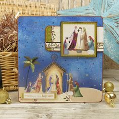 Christmas Themes, Christmas Cards, Hunkydory Crafts, True Meaning Of Christmas, Ready To Pop, Card Making Inspiration, Contemporary Style, Paper Crafts, Club
