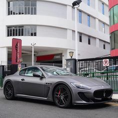 Satin Grey Maserati By Blackfoxphotography Maserati Dream Cars Luxury Cars