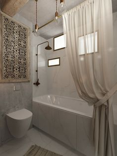 Browse shower room remodelling designs as well as embellishing concepts. Discover inspiration for your shower room remodel, consisting of shades, storage space, designs as well as organization. Feminine Apartment, Urban Apartment, Apartment Design, Bad Inspiration, Bathroom Inspiration, Inspiration Boards, Modern Bathroom, Master Bathroom, Bathroom Sets