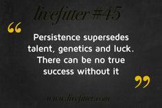 Persistence...