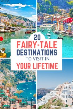 Have you ever wanted to visit a cozy little village to feel like you're in a fairy tale? Here are the most beautiful villages around the world. 20 fairy-tale destinations to add to your bucket list! Vacation Destinations, Dream Vacations, Vacation Spots, Mini Vacation, Vacation Ideas, Places To Travel, Places To See, Time Travel, Travel Goals