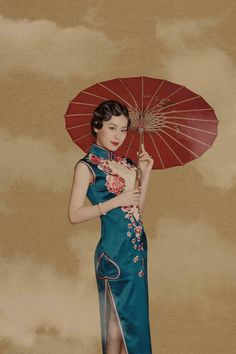 旗袍大叔|一件好的旗袍不仅仅是服饰,更是一件精美的艺术品。 Oriental Fashion, Asian Fashion, Chinese Fashion, Oriental Style, Asian Style, Chinese Style, Chinese Gown, Cheongsam Wedding, Old Shanghai