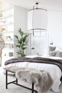 scandinavian bedroom ideas, nordic style home design, scandinavian bedroom decors, minimalist bedroom decorations Scandinavian Bedroom Decor, Scandinavian Interior Design, Scandinavian Home, Cozy Bedroom, Bedroom Ideas, Bedroom Designs, Swedish Bedroom, Master Bedroom, Scandi Bedroom