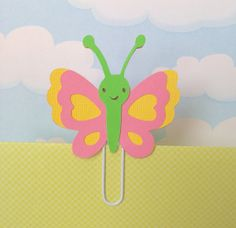 Spring Butterfly Filofax Bookmark Page Clip by KawaiiPaperie, $1.20