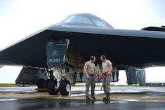 B-2 Spirit Aircraft inspections