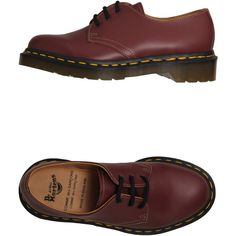 DR. MARTENS Lace-up shoes - Item 44401710 ($190) ❤ liked on Polyvore