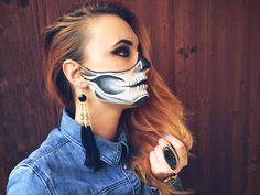halloweenmakeup #halloween #makeup #horror #blood #wound #redbull ...